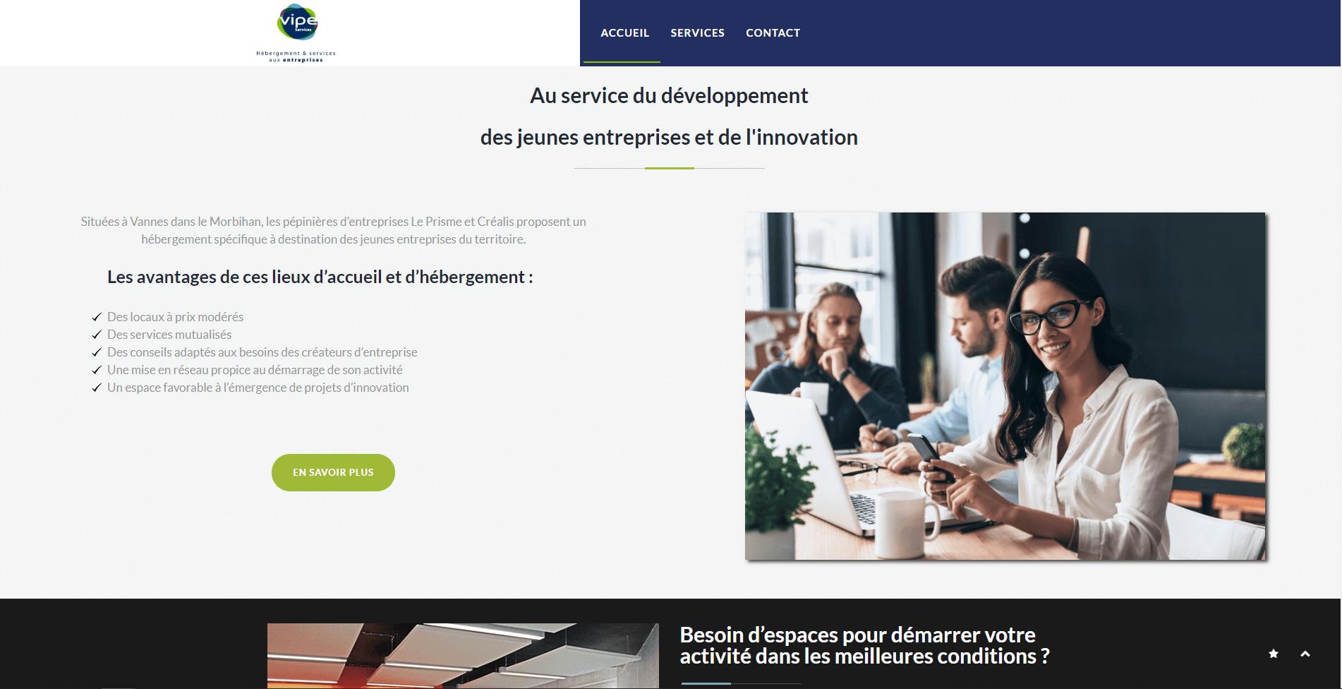 Les Pépinières d'entreprises  de Golfe du Morbihan Vannes agglomération